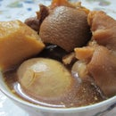 Pork Trotters in Vinegar and Ginger Stew