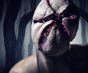 Stranger Things Monster Halloween Makeup Tutorial