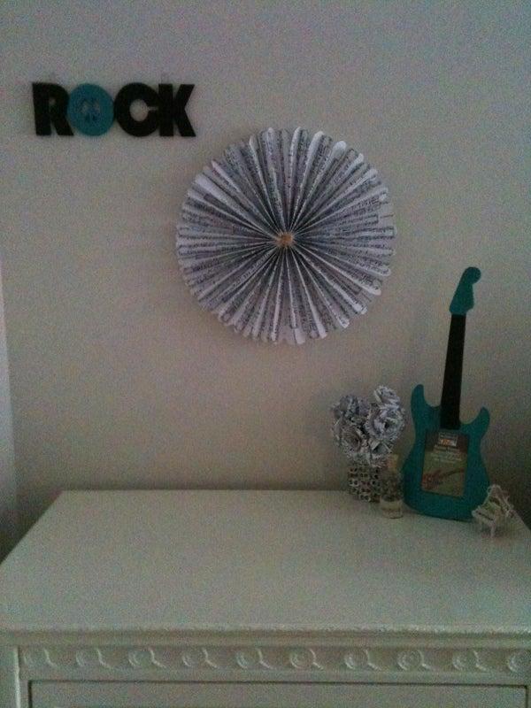 Sheet Music Pinwheel