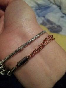 Bracelet From Old in Ear Headphones