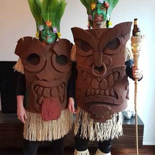 Tiki God - Eva Foam Costume