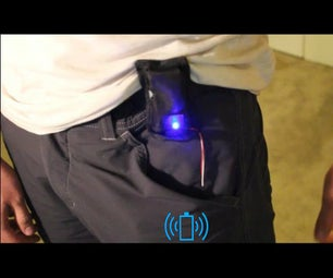 Wearable Wireless Phone Charger