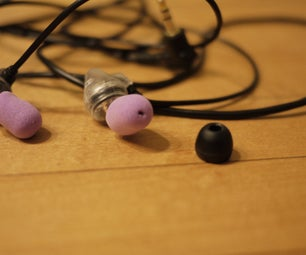 Poor-man's Earbud Replacement Covers From Ear Plug