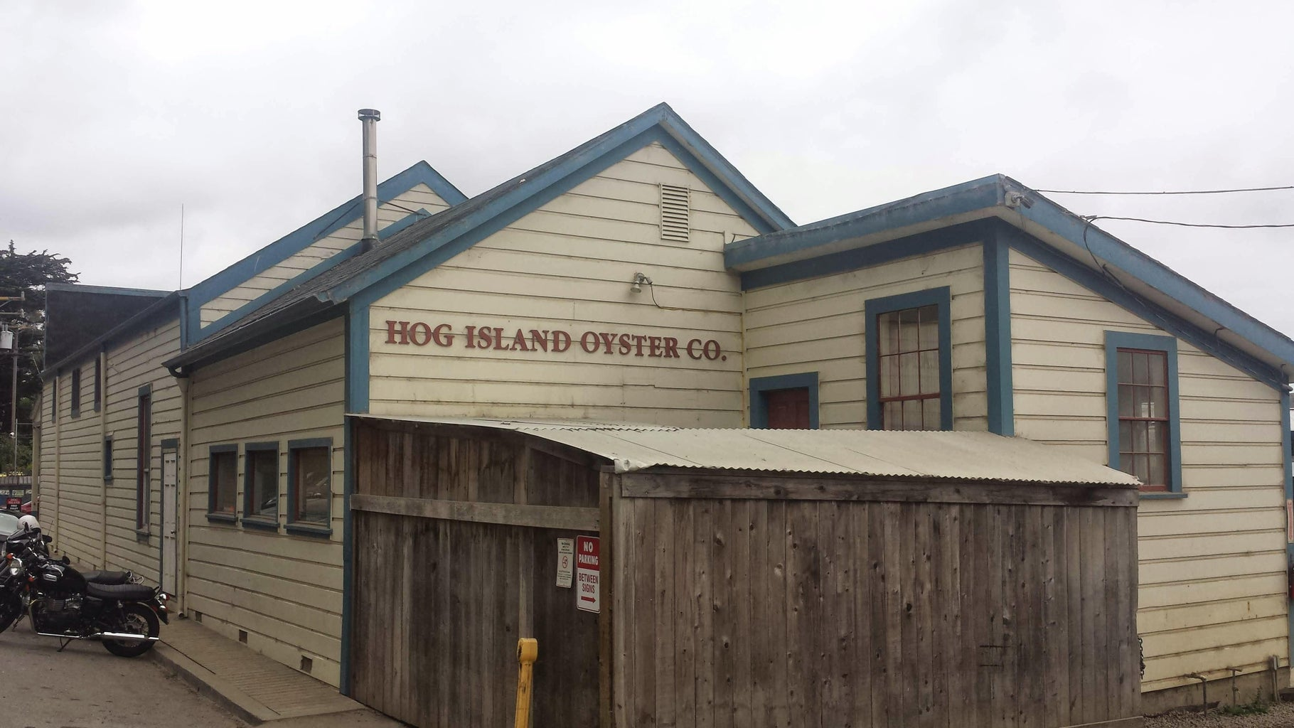 Hog Island Oyster Co. Grilled Oysters