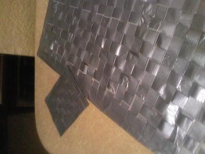 Duct Tape Woven Floor Mat/Coaster