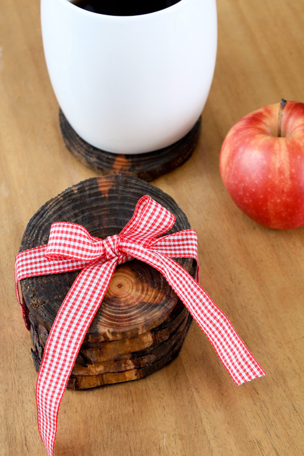Make Tree Limb Coasters