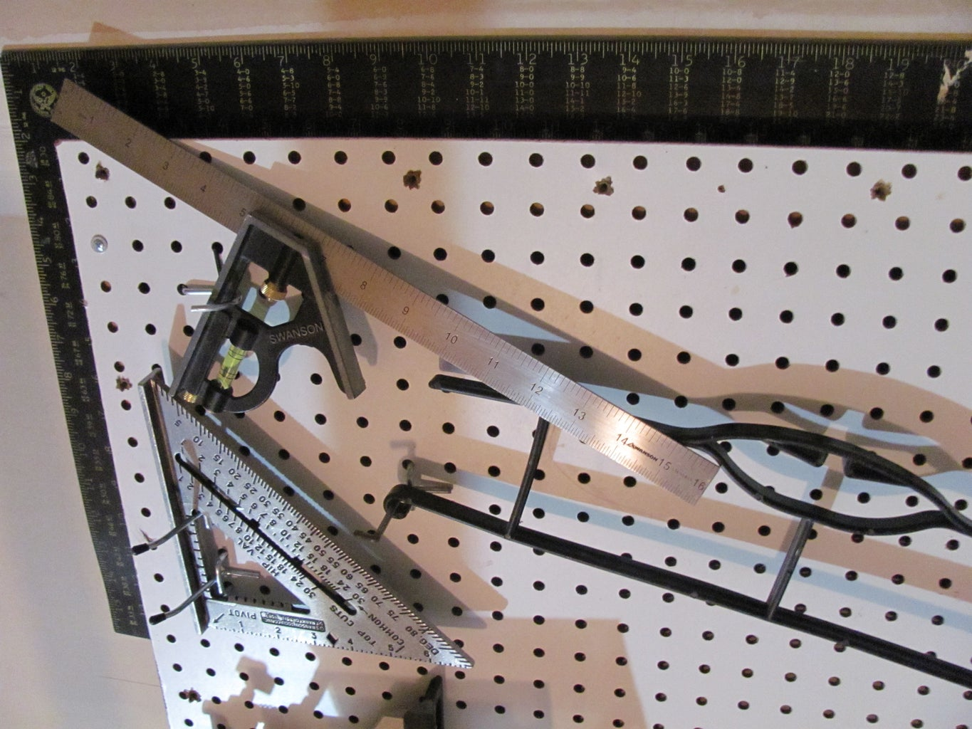 Transition: Pegboard