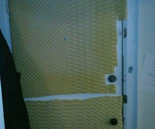 Soundproof Your Apartment Door. Cheap.