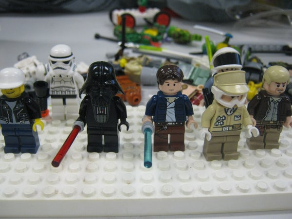 How to Do a Lego / Star Wars Stop Motion Animation
