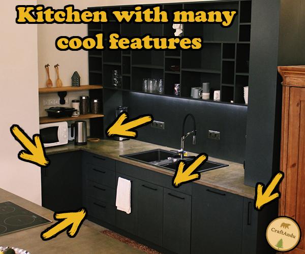 厨房有许多很酷的特点
