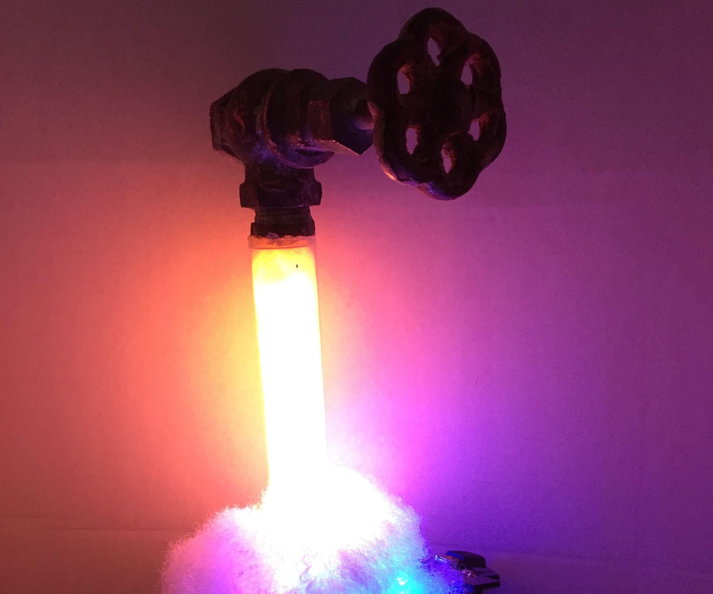 Neopixel Running Water Faucet Lamp