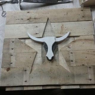 Wooden Bull's Head