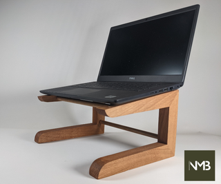 DIY Wooden Laptop Stand