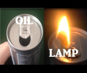 Emergency Oil Lamp