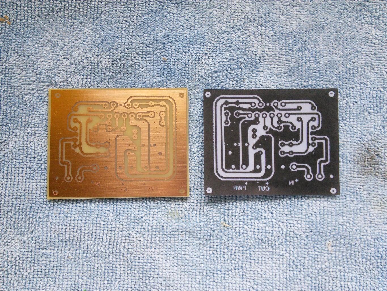 Mono Amp PCB Fabrication
