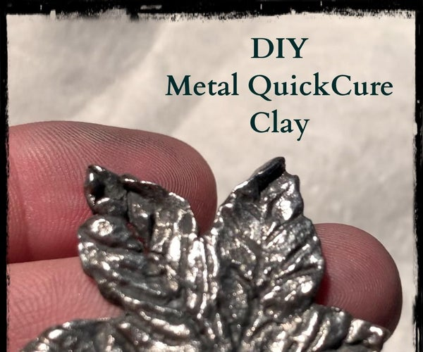 DIY Metal Clay.       No Kiln - No Torch- No Problem