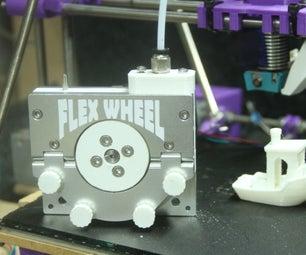 Monitor - Measure - Improve 3D Flexible Filament Printing Through a Bowden Cable