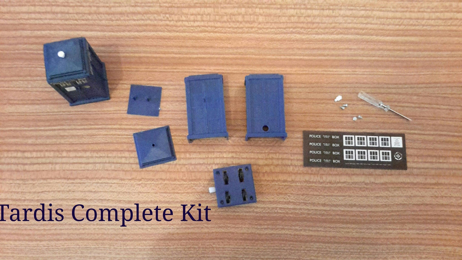 Step 1 Open Tardis Kit