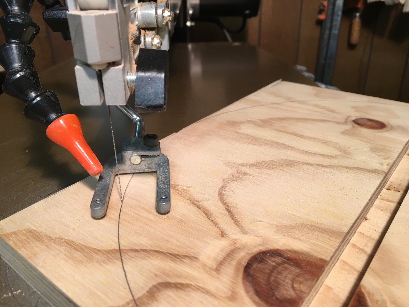 Cut Your Plywood Base