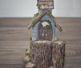 Rustic Fort Fairy House