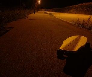 Simple Wooden Skateboard
