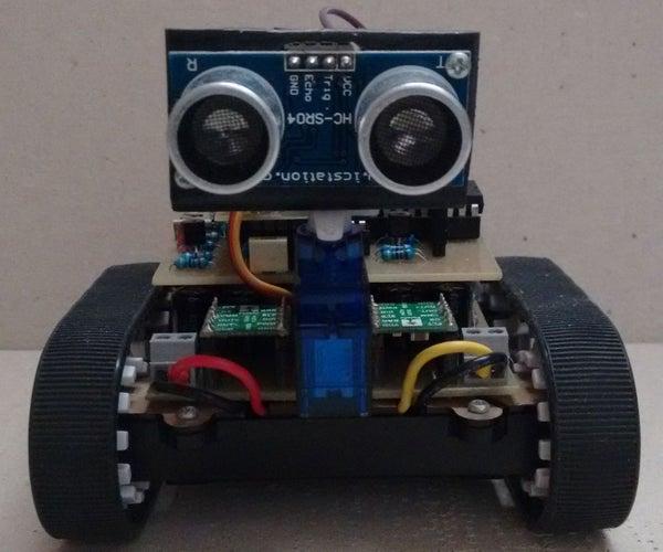 Ultrasonic Obstacle-avoiding Robot