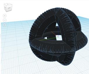 3 Dimensional Tire Ball