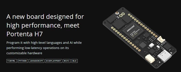 About the Arduino Portenta Board