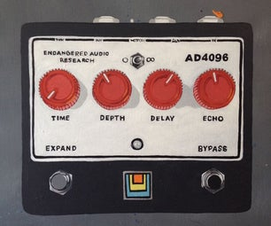 AD4096 Delay 800ms BBD Upgrade DIY Kit
