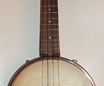 Homemade Banjo Ukulele