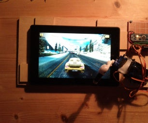 Robot Tablet Player