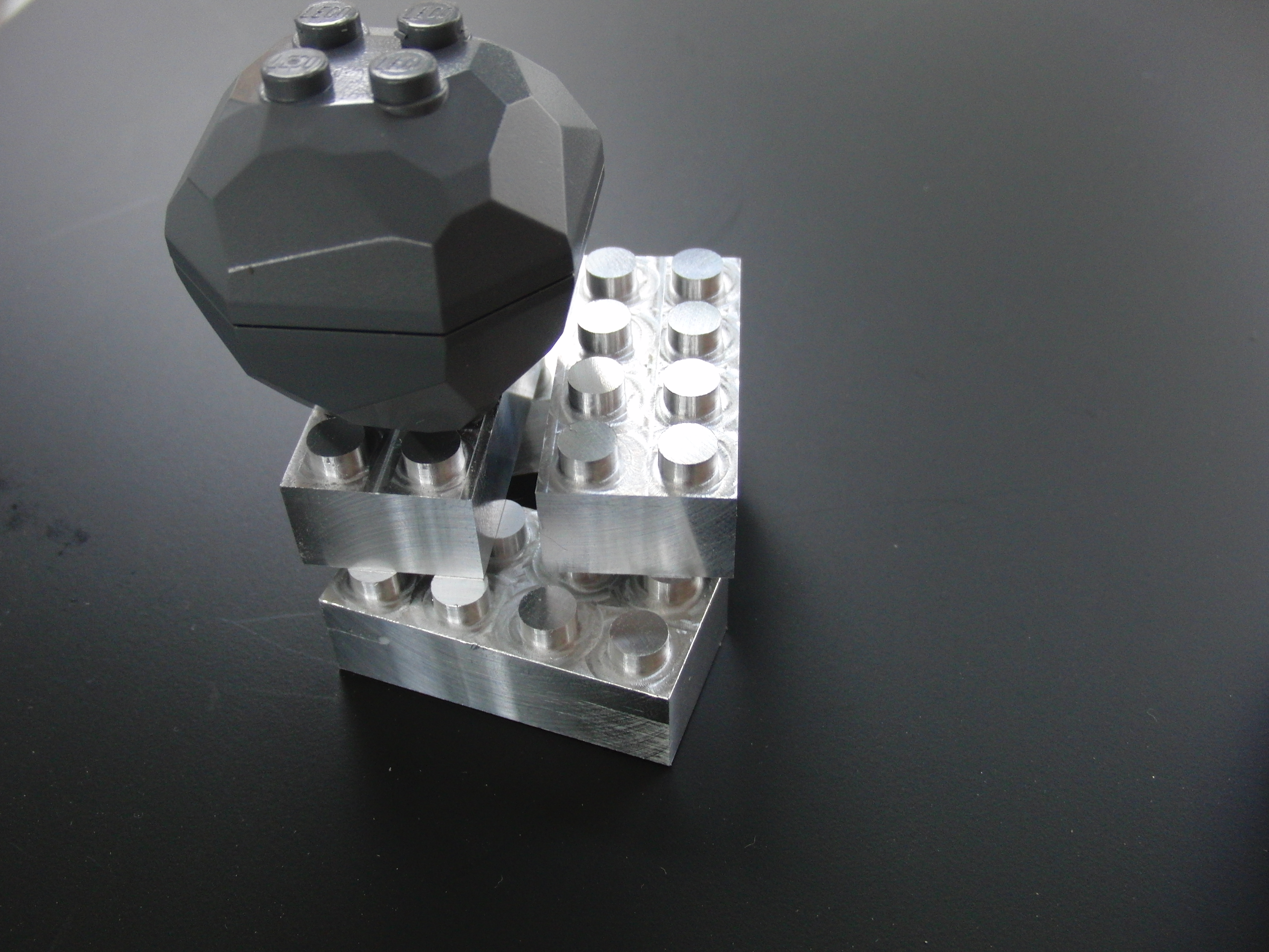 DIY AlUMINUM LEGO BLOCKS