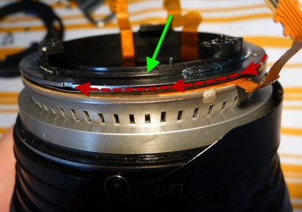 Adjust the Manual Focus Ring Pressure