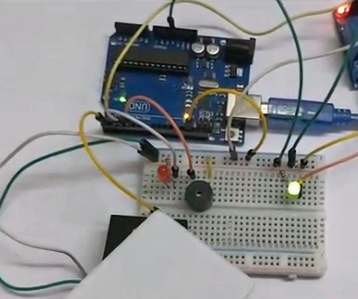 RFID Door Lock Using Arduino
