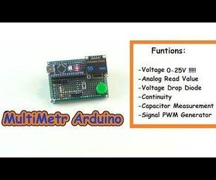 MultiMeter Arduino NANO and OLED I2c 0.96″