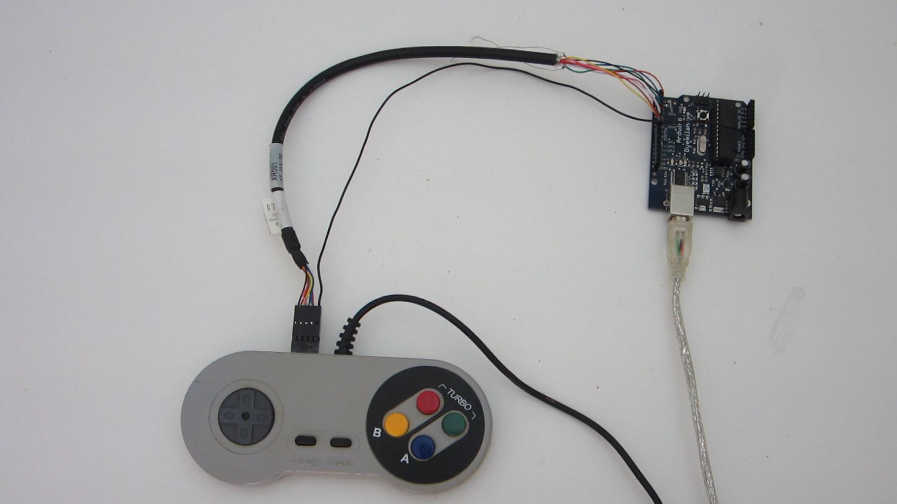 Attach the Wires of the Second Cable to the Arduino