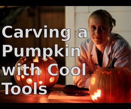 Carving a Pumpkin The Fun Way!