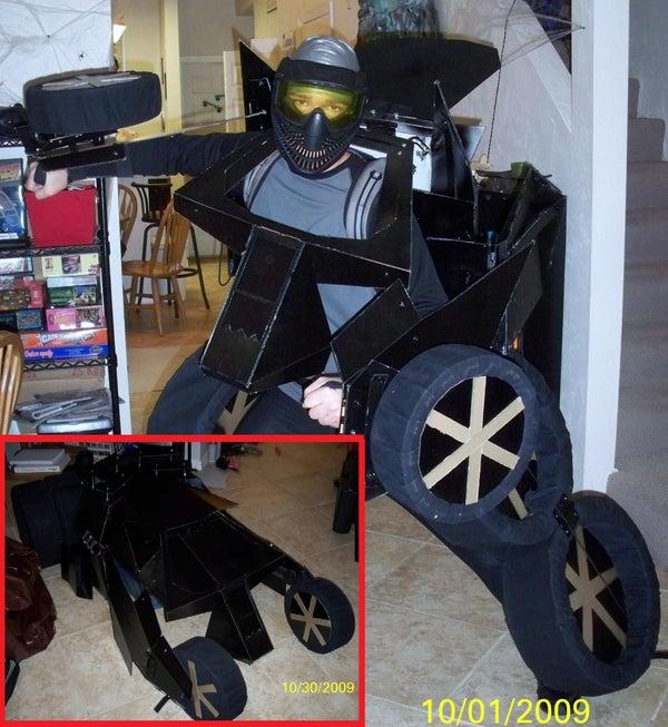 How to Make a Batmobile Transformer Costume