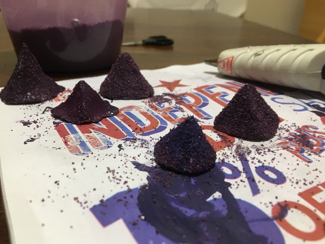 Make and Paint Mountains