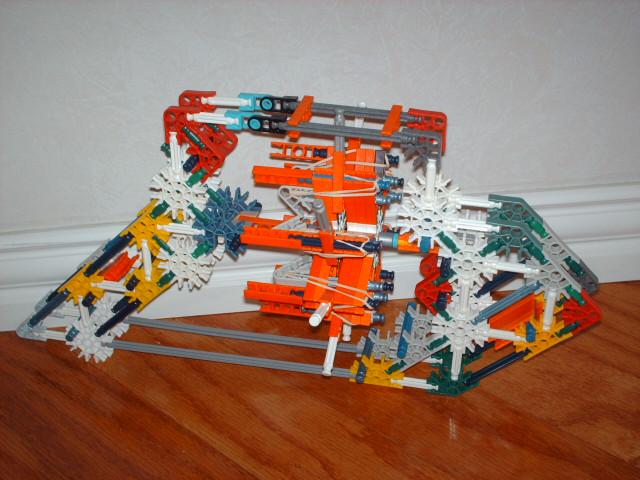 Knex sub machine gun.