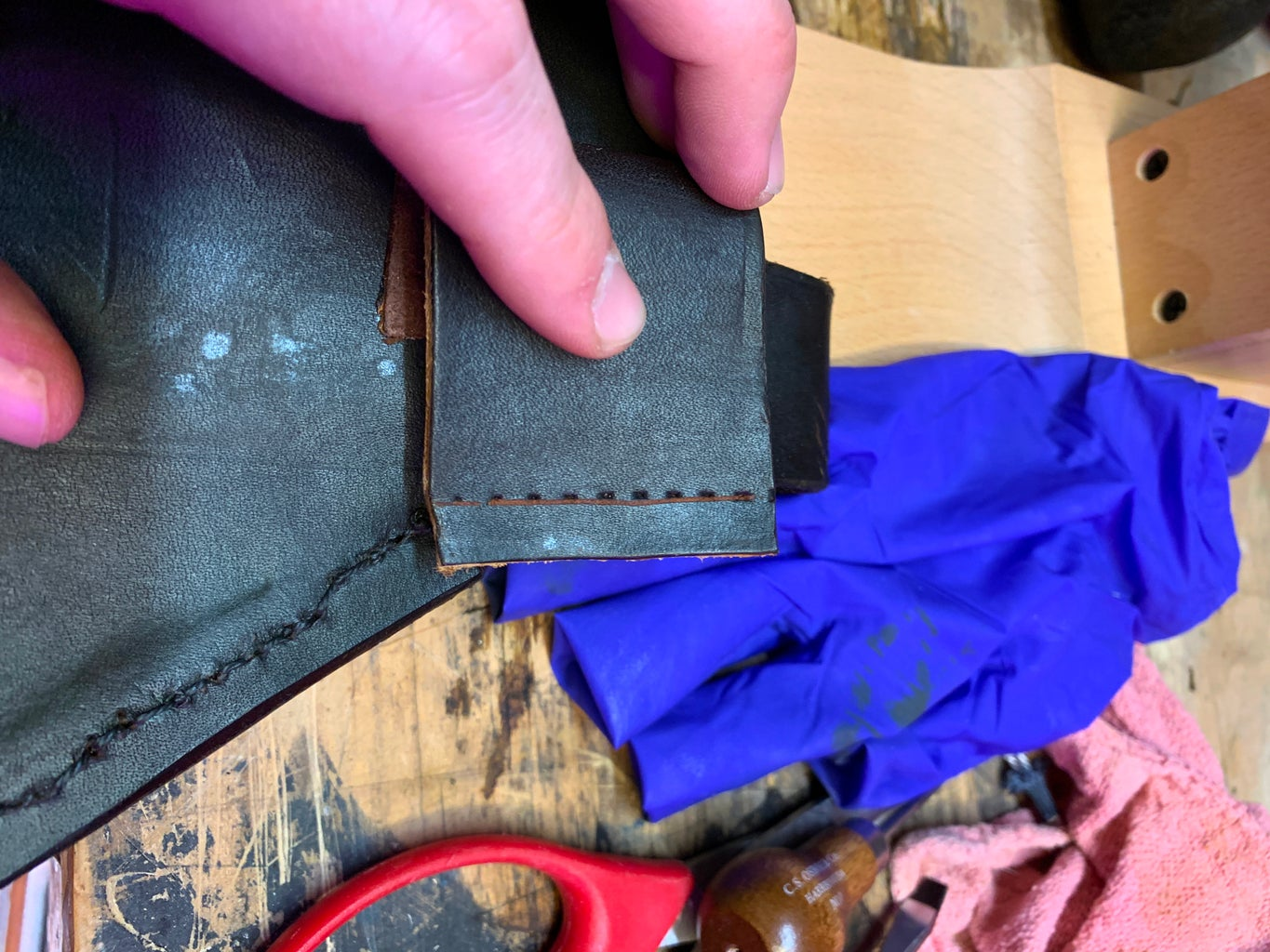 Adding the Belt Loop (a Little Late)