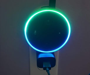 Upcycle Shampoo Bottle Into Quick Echo Dot Wall Mount.