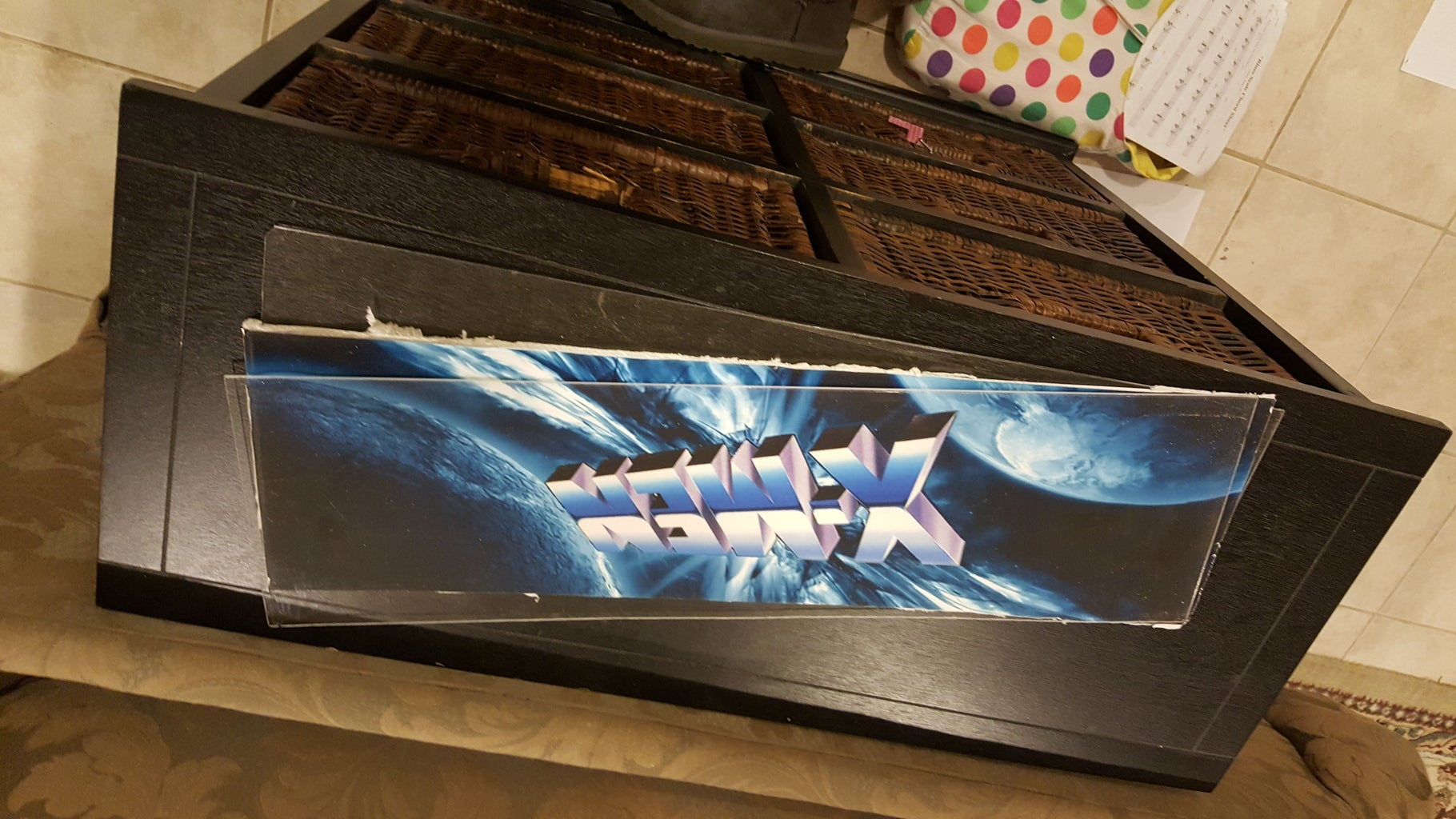 Assemble the Marquee Art and Plexi