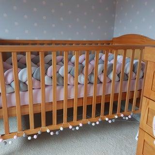 Baby Crib/Cot Braided Bumper