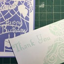 Paper Cut Out Card