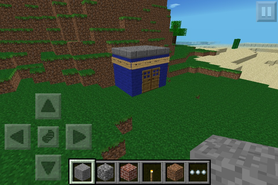 Minecraft Doctor Who!