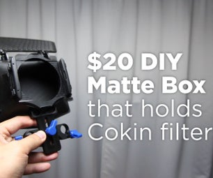 DIY Matte Box With Filters