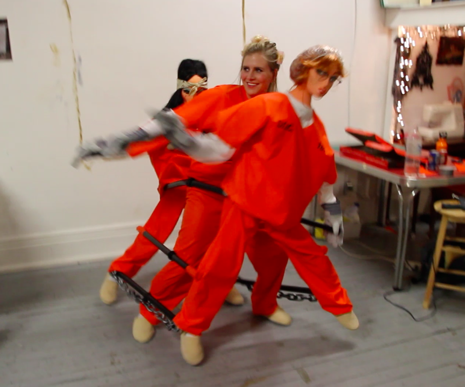 Dancing Chain Gang Costume