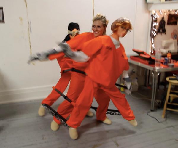 Dancing Chain Gang Costume