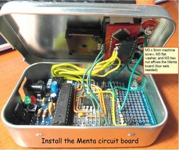 Install the Menta Circuit Board